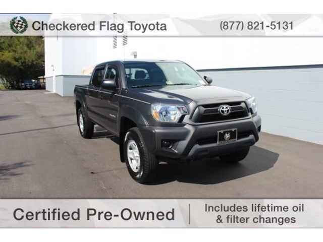 certified pre owned 2014 toyota tacoma std 4d double cab in virginia beach dt54238a checkered. Black Bedroom Furniture Sets. Home Design Ideas